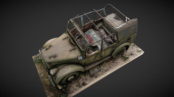 3D model gaz-69 gaz