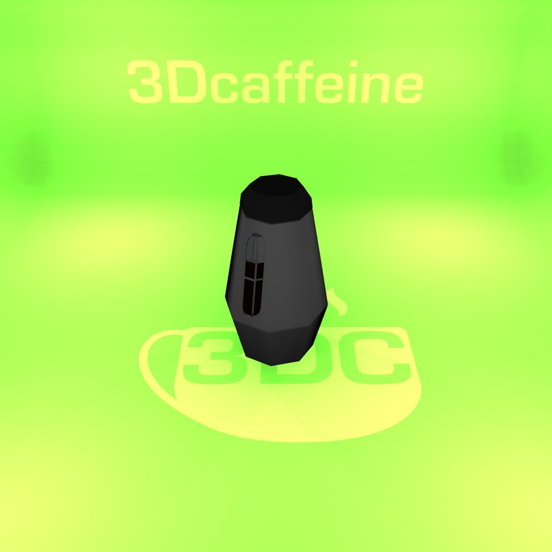 3D thermos ready engine model