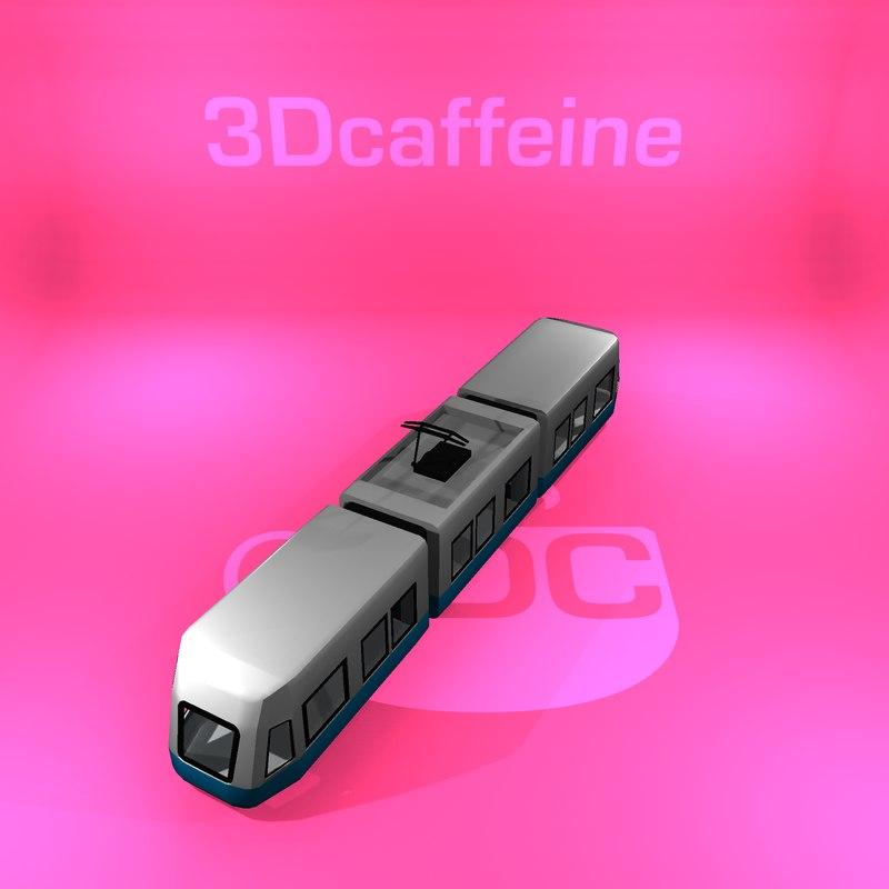 tram gothenburg ready 3D model