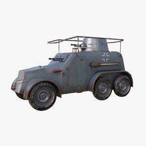 3D oa vz 30 armoured car