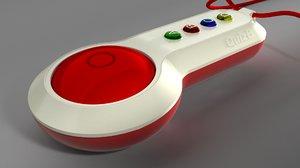 3D pad controler model