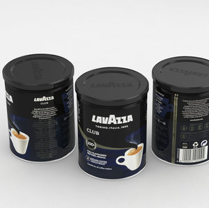 coffe lavazza black 250g 3D model