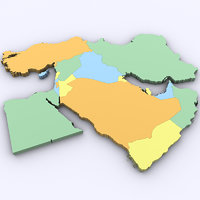 3D model middle east