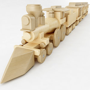 general toy train 3D