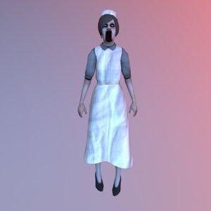 character horror 3D model