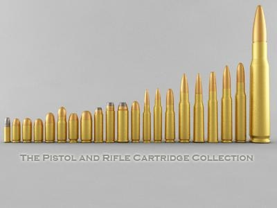 pistol rifle cartridges model