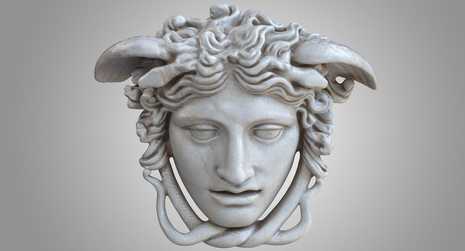medusa rondanini head 3D model