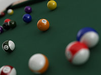 pool table model