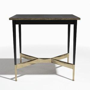 3D model alexandria salon table sf-199
