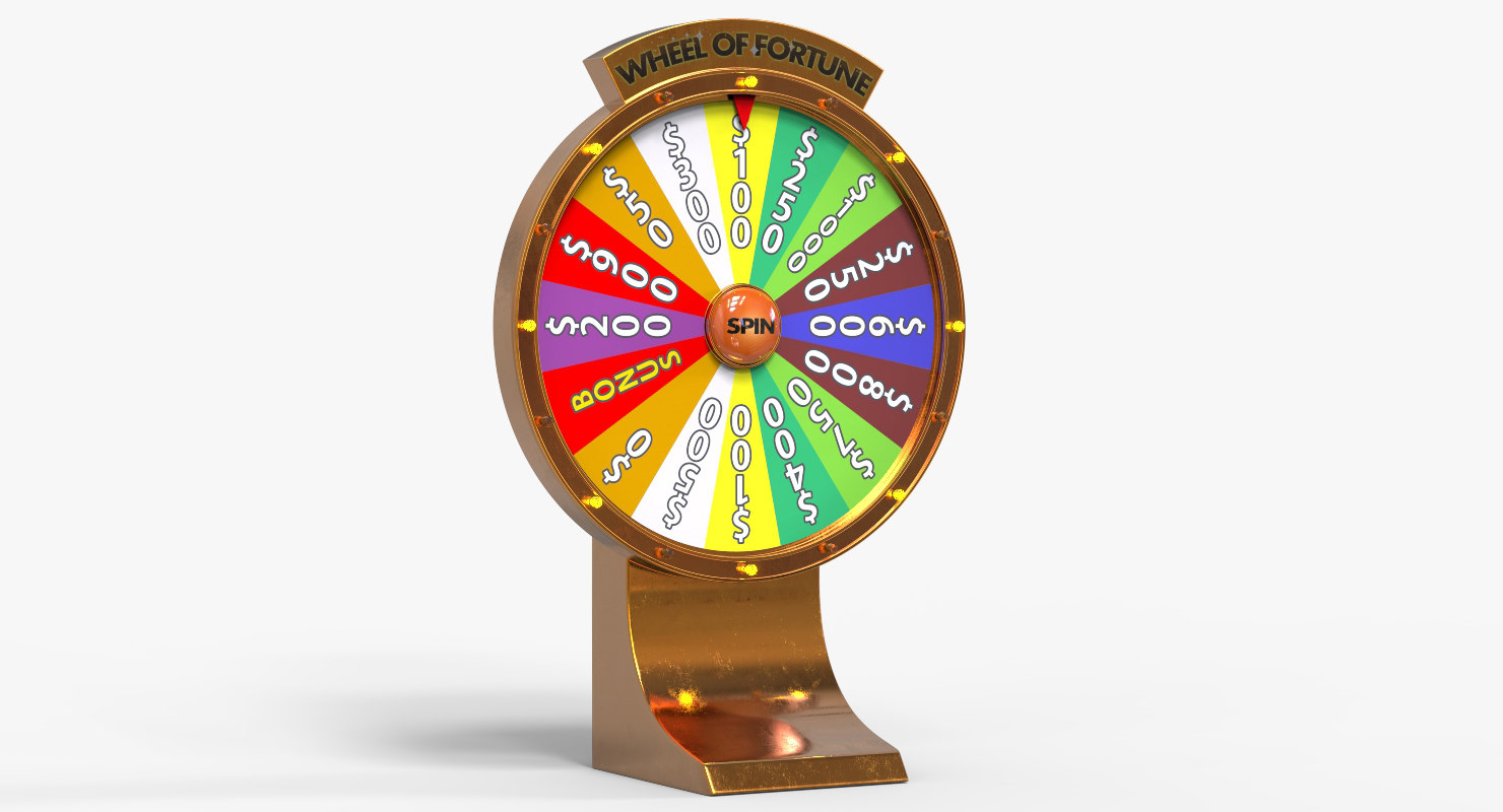 Wheel of fortune 3d slot machine game