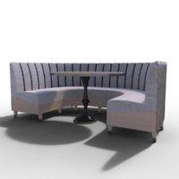 Banquette sofa