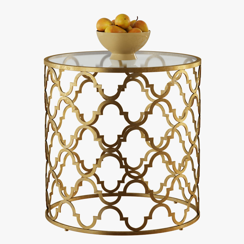 3D moroccan table model