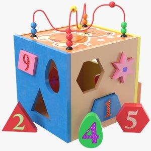 3D kids toy