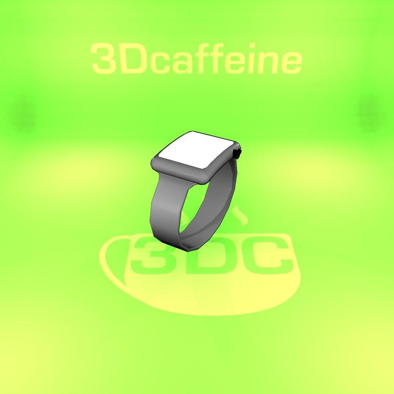 smart watch 3D