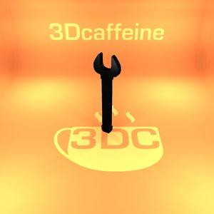 3D wrench ready 3dcaffeine