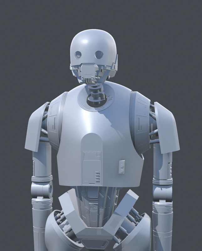 3D model k-2so modelled