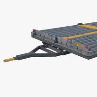 3D tug airport model