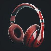 headphones music 3D model