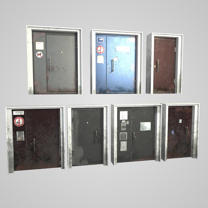 metal door model