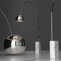 floor lamp floss arco 3D model