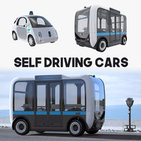 self driving cars 3D