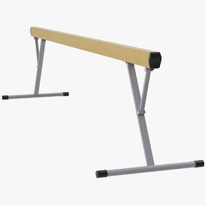 balance beam 3D