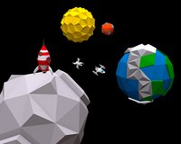 space pack planets 3D