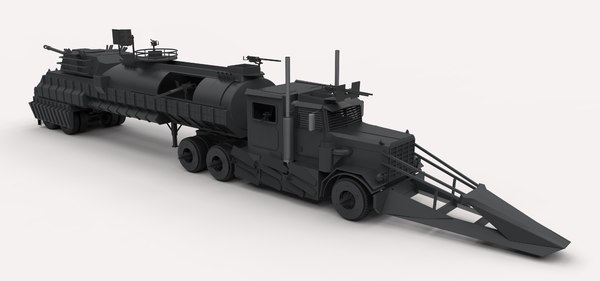 dreadnought death race 3D model