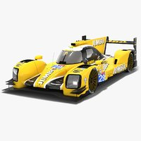 3D racing team nederland dallara model