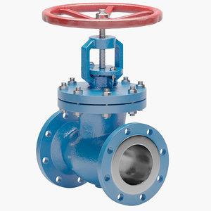 valve gate 3D