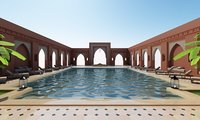 Traditional Moroccan Pool Marrakech