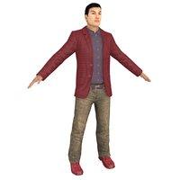 casual man 3D
