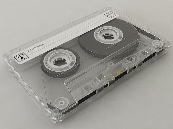 3D cassette compact tape