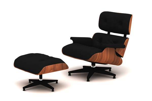 lounge chair charles eames 3D