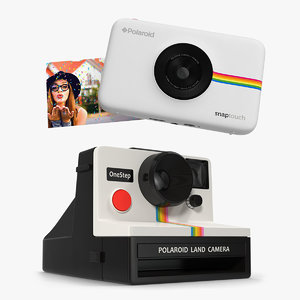 polaroid cameras 3D
