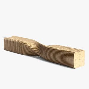3D parametric bench 02