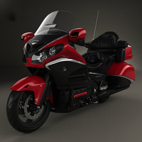 3D model honda gold wing