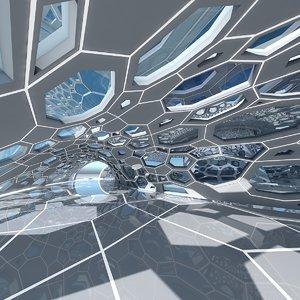 architectural interior 3D model