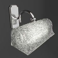 3D sconce wall casablanca model