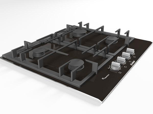 kitchen cooktop model