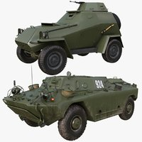 Military Car Collection Mental ray 001