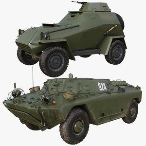 3D military car 001