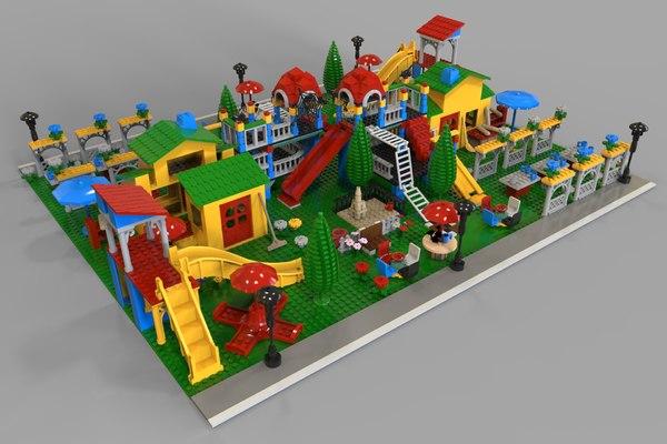 3D kindergarten lego
