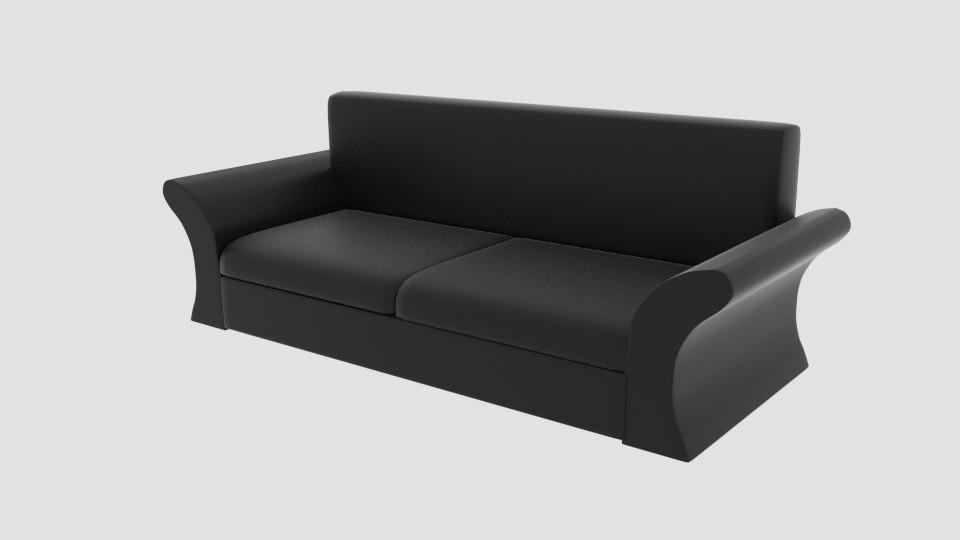 3D model sofaa hand