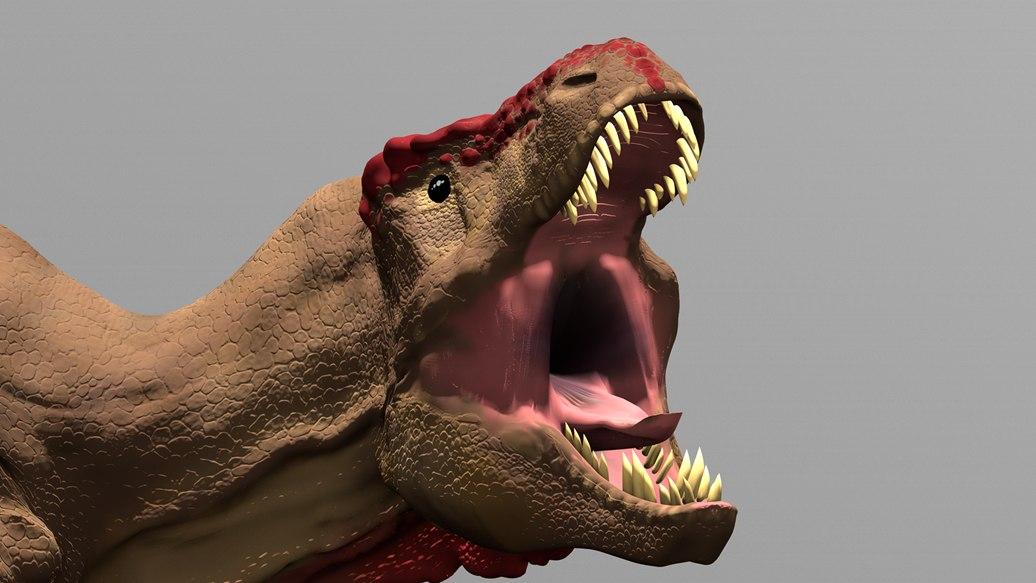 3D tyrannosaurus rex