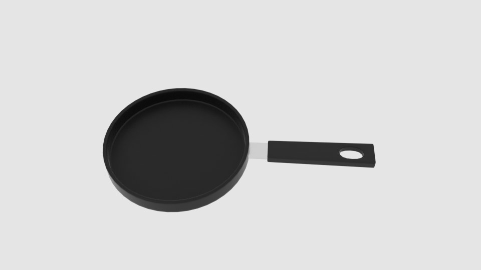 frying pan 3D