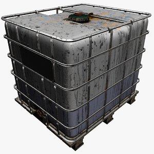 3D ibc container