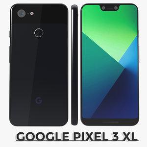 3D google pixel 3
