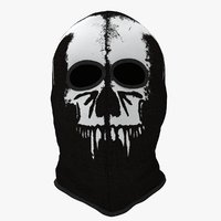 balaclava 2 holes funny 3D model