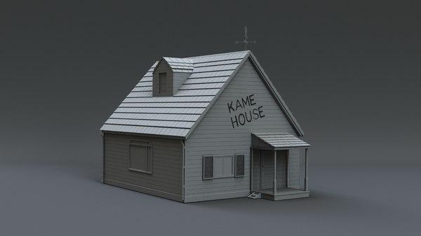 3D model kame house